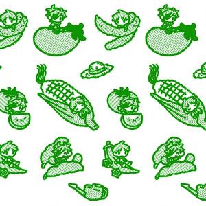 夏野菜クリアボトル(紹介文ご確認ください)