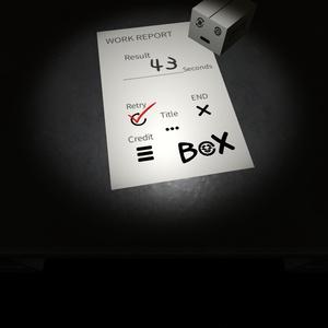 【自作ゲーム】BoX【中毒性エンドレスサバイバルアクションゲーム】
