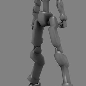 【VRChat】オリジナル3Dモデル「アサルトフレーム000:ネイキッド」