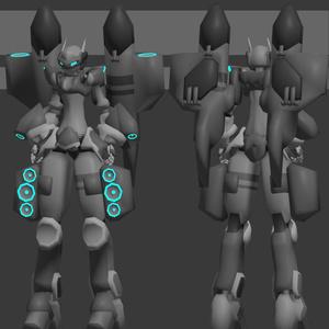 オリジナル3Dモデル:「ルシーダ」