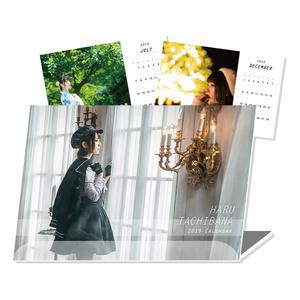 【半額】立花はる2019卓上カレンダー