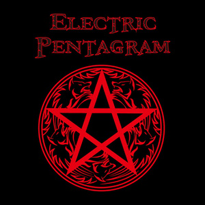 ELECTRIC PENTAGRAM LONGSLEEVE T-SHIRT