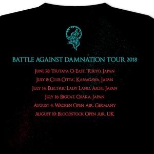 BATTLE AGAINST DAMNATION T-SHIRT