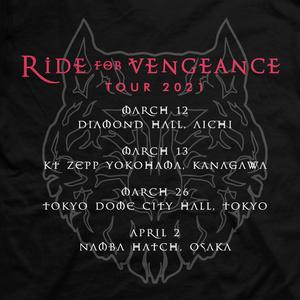 RIDE FOR VENGEANCE T-SHIRT