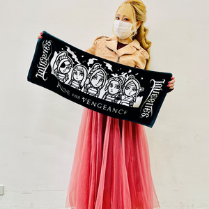RIDE FOR VENGEANCE HAND TOWEL (LBTW-0472)