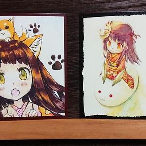 イラストカード 和・2枚セット