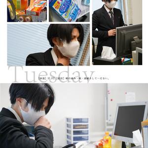 風邪ひきリヴァイ写真集vol.2【こんな風邪くらい、すぐ治る。】