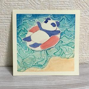 原画『海水浴』