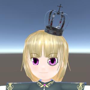 【3Dモデル】アンティークミニクラウン