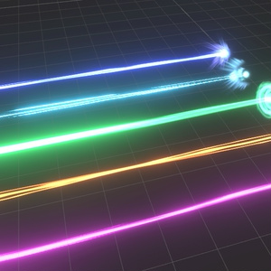 【Unity】VRC向けビーム5種盛り