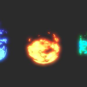 【Unity】Surface Flame Shader