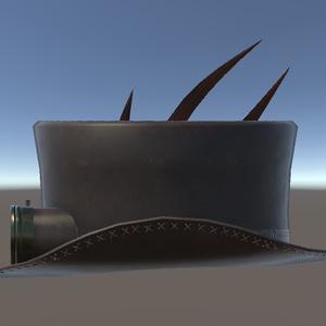 【3Dモデル】スチームパンクハットvol.2