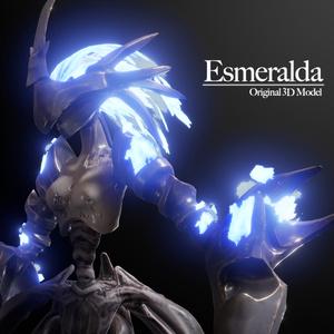 Esmeralda / オリジナル3Dモデル