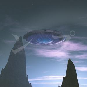 UFO風景5点