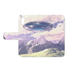 UFO 手帳型iPhoneケース