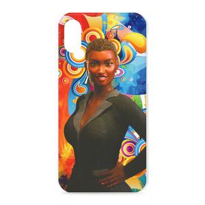 iPhoneX用ケース 女性像2