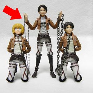 フィギュア用首輪&鎖セット(細い鎖)