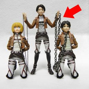 フィギュア用首輪&鎖セット(太い鎖)