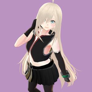 【VRoid】ロングヘアMk-III【ヘアプリセット】