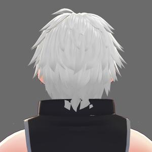 【VRoid】外ハネショート(男性用)【ヘアプリセット】