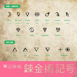 錬金術記号・シンボル