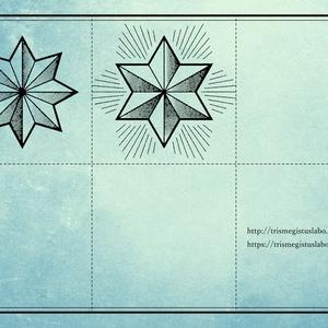 星・太陽・月シンボル素材集