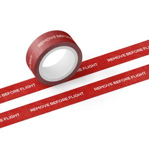 REMOVE BEFORE FLIGHT マスキングテープ