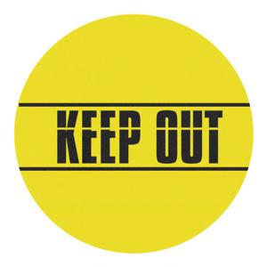 KEEP OUT (立入禁止)マスキングテープ