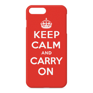 KEEP CALM AND CARRY ON iPhoneケース