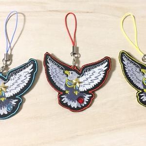<刺繍ストラップ> RYU-SEI BIRD