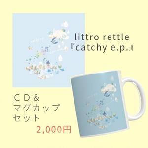 SOLD OUT【CD+マグカップ】『catchy e.p.』+オリジナルマグカップ☆スペシャルセット☆