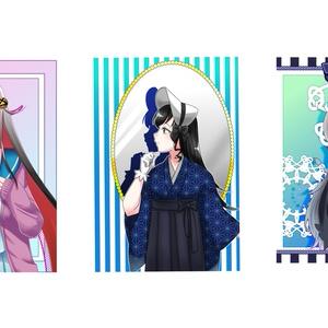 真剣少女 ポストカード(3枚セット)