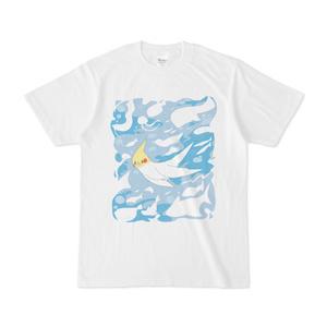 海オカメTシャツ
