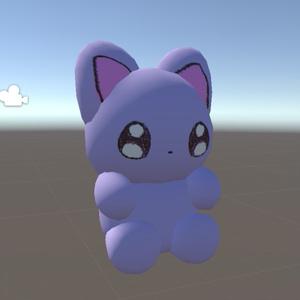 【3D】メンヘラが描く猫