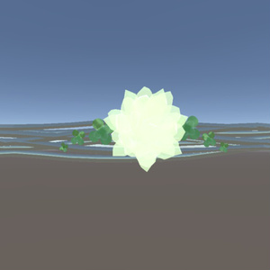 【一組限定】シロツメ草のペアリング【3D】