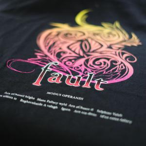 fault ロゴTシャツ