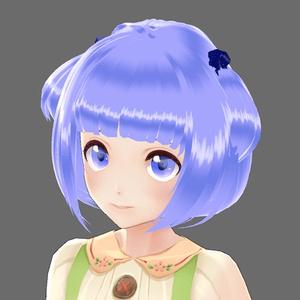 【無料版あり】【VRoid】髪のテクスチャ