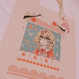 櫻井桃華のトートバッグ&アクリルキーホルダー