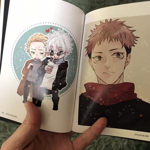 JUJUイラストログ本1