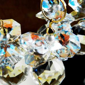 ダイヤとスワロフスキー・オクタゴンのサンキャッチャー(全4色)