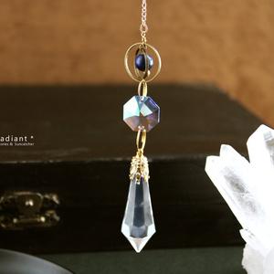 ~惑星~ペンデュラム<Swarovski Crystal使用>