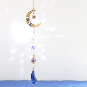 一点もの☆メテオール~流星〜サンキャッチャーver.3(Swarovski Crystal使用)