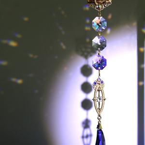 希少☆メテオール~流星〜 サンキャッチャー ver.5(スワロフスキー・クリスタル使用)六芒星