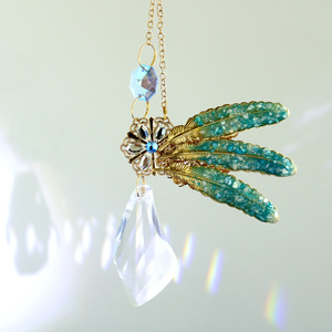 Bird Wing ~翼のサンキャッチャー ☆ Swarovski Crystal使用   Radiant