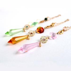 3wayペンデュラム ~全3色~<Swarovski Crystal使用>[受注制作]