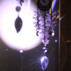 【希少】藤の花サンキャッチャー ☆ Swarovski Crystal使用
