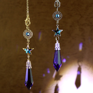 3way 流星のペンデュラム(全2色)<Swarovski Crystal使用>