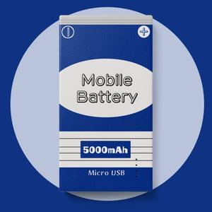 電池風モバイルバッテリー