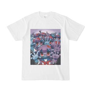 顔色の悪い女の子Tシャツ(ロゴなし)