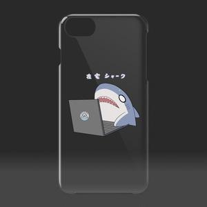在宅シャーク iPhoneケース(透けとるん)